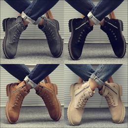 Мода Мужские Высокие Топы Натуральная Кожа Мартин Сапоги Мартин Лето Повседневная Дышащая обувь Роскошные Британские Женщины Оснащение Снег обувь от Поставщики добавить долго