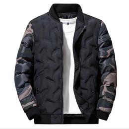 Nuevas sudaderas de moda online-Chaqueta de diseñador de invierno para hombre, manga larga, nuevo abrigo de algodón, tendencia de los hombres, chaquetas de plumón casuales, gruesas, ropa de cremallera para hombre, sudaderas con capucha de talla grande