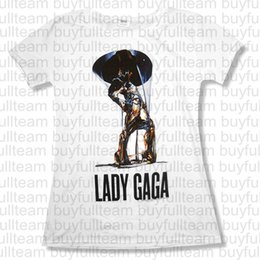 Collo di bambola online-Bravado Juniors Lady Gaga Melting Baby Doll T-shirt maniche corte Mens Bianco Top Moda girocollo T-shirt Taglia S M L XL 2XL 3XL