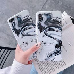 Wholesale Luxus Chinesische Zeichnung Telefon Fall Waschen Malerei Telefon Shell Tinte Stil TPU Abdeckungen für iPhone PLUS XR X MAX