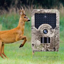 controllo della telecamera sms Sconti Telecamera di caccia PR-200 0,8 Trigger Time 110 gradi Sensore PIR Telecamera grandangolare a infrarossi per la visione notturna HD Telecamere per lo scouting