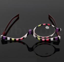2019 óculos graus óculos de leitura de 180 graus óculos de giro único senhoras maquiagem especial moda óculos de leitura 1.5-4.0 LJJK1481 óculos graus barato