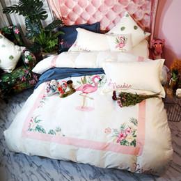 Edredón de marca online-Personalice su logotipo de bricolaje Foto de cama Juego de cama de terciopelo Juego de cama 4PCS Marca de lujo Juego de funda nórdica Ropa de cama Textiles para el hogar Proveedores