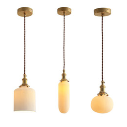 Diseñador de luces de cerámica creativas luces de suspensión blancas para sala de estar pan lámpara colgante tienda de iluminación para el hogar No121 desde fabricantes