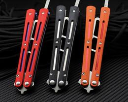 Entraînement tactique pratique métal acier G10 poignées roulements outil de papillon émoussé ? partir de fabricateur