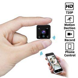 Gebäudesicherheit online-Mini-Wifi-IP-Kamera 1080P CCTV-Überwachung Smart Home Security-Kameras drahtlos Eingebaute Batterie IR Audio-Kamera