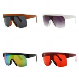 große rahmenbrillen Rabatt Flachdach Sonnenbrille Großen Rahmen Brillen Frauen Männer Retro Moderne Schauspiele Street Pat Das Neue Rot Schwarz 11ccc