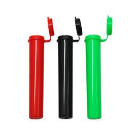 1200 Paquete 98 mm Doob contundente Tubo de unión Sujeción vacía Pop Top Botella Tubos pre-enrollados Contenedor de almacenamiento UPS FEDEX Envío gratis desde fabricantes