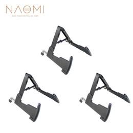 rackbass Rabatt NAOMI 3 Stücke Aroma AGS-02 Gitarrenständer Bassständer Schwarz Kaninchen Stil Metallständer Verlängern Gitarre Teile Zubehör Neue