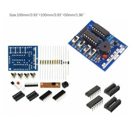 schede audio Sconti 16 Music Box 16 Sound Box BOX-16 16-Tone modulo elettronico fai da te Kit ricambio DIY Componenti Kit di accessori Consiglio