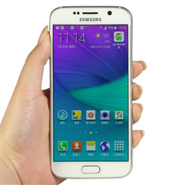 Borda original samsung s6 on-line-Recondicionado Original Samsung Galaxy S6 S6 borda G920A G920A G920F G925A G925F Desbloqueado Telefone Celular Octa Núcleo 3 GB 32 GB 16MP ATT T-móvel Sprint