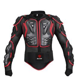 Jaquetas de segurança para motos on-line-SULAITE Profissional Full Body Jackets Engrenagem de Proteção Para A Motocicleta Off-road Equipamentos de segurança Ao Ar Livre para Motocross Cavaleiro # 70886
