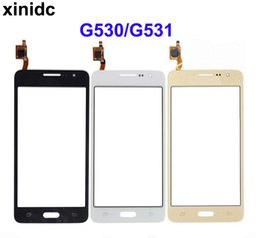 2019 display lcd lc nexus schermo Xinidc Touch Screen per Samsung Galaxy Grand Prime G531F SM-G531F G530H G531 G530 Touch Screen Sensor Display Digitizer Vetro