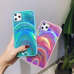 Maçãs doces para on-line-Para IPhone 11Pro Max arco-íris Casos geléia colorida XS Max Gradiente Bombom 6 7 8 Plus Elegante Luxo Phone Case Gota Móvel