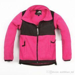 vestito esterno di inverno dei capretti Sconti New Winter Kids Giacche in pile Cappotti Fashion Casual Warm Ski Baby Cappotti Outdoor Sports Suit 3-11 anni S-XXL