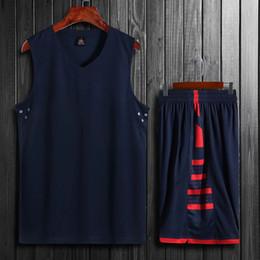 Camisas personalizadas dos esportes on-line-Qualidade superior Das Mulheres Dos Homens Crianças Camisas de Basquete Define Uniformes Meninos Esporte Kit Roupas Camisas Shorts Ternos Bolsos Laterais Personalizados