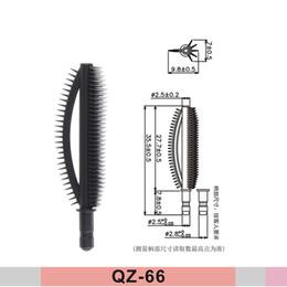 2017 Jetables Baguettes De Mascara Noires Brush Eyeliner Eyeliner Applicateur Gros pour Custom Cream Tube Emballage, Livraison Gratuite QZ-66 ? partir de fabricateur