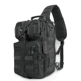 Sac à bandoulière d'assaut tactique en Ligne-Tactical Assault Pack Sac à dos étanche à l'épaule Sacs Petit sac à dos pour la randonnée en plein air Camping Chasse