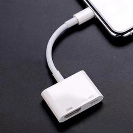 Hd iphone en Ligne-Pour iphone vers numérique AV Câble HDMI Pour adaptateur iP vers HDMI Connecteur Adaptateurs 1080P HD Pour Iphone X 8/7/6