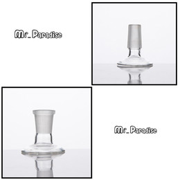 Acessórios de fumar dome on-line-Glass Smoking Accessories Stand for Bowl Piece or Domes available in 14mm 18mm Male Female Joint