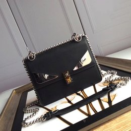2019 borse di lusso firmate borse donna vera pelle semplice atmosfera retrò borsa a tracolla versatile catena di moda da