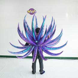 Ticari aktivite sergi dans partisi dev şişme balon şişme performans kanatları kostüm nereden büyük beyaz balon tedarikçiler