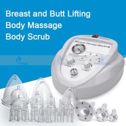 Pompe di coppettazione online-Il nuovo disegno terapia vuoto Massager del seno Body Shaping macchina di bellezza Busto Enhancer pompe per l'ingrandimento del seno di sollevamento Cup Linfodrenaggio