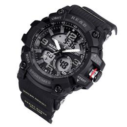 Montres de sport 90001 pour hommes Top Date de la montre électronique avec bande REDA avec montre-bracelet multifonction pour semaine pour homme 3, étanche ? partir de fabricateur
