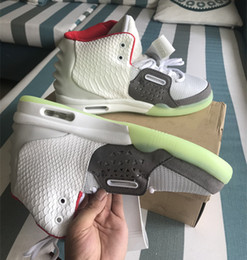 dfd776cb27b41 2018 Kanye West 2 II SP Red October Sports Basketball Shoes With Dust Bag Mens  Sneakers Glow Dark Octobers Athletic Shoes