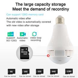 360 grados de luz LED 960 P inalámbrico Seguridad para el hogar Seguridad WiFi WiFi CCTV Fisheye Bombilla Lámpara Cámara IP Dos maneras de audio desde fabricantes
