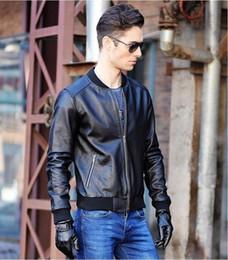Erkek siyah motosiklet deri ceket, homme giacca moto pelle, hakiki inek deri, mn için slim fit ceketler nereden