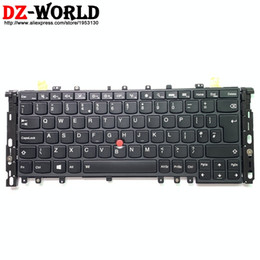 Original lenovo thinkpad on-line-New original gb uk inglês backlit teclado para lenovo thinkpad s1 yoga yoga 12 backlight teclado 04y2649 04y2945 sn20a45487