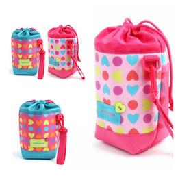 Bolsa termo online-Bolsa de botella caliente Niños Estudiante bolsa térmica Leche Agua Termo cubierta para niños soportes para botellas Bolsas de aislamiento