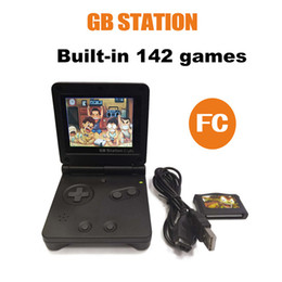 jogos console pocket Desconto Mini Handheld Game Player 32 Bit Embutido 142 Jogos Clássicos 3.0inch Mini Bolso Retro Game Console