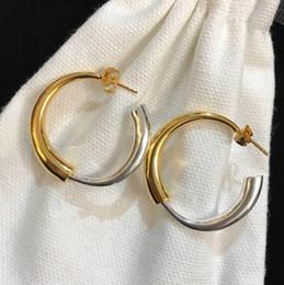0db69b56158d pendientes de broche Rebajas Diseñador de Joyas de Boda de lujo BROCHES  Pendientes Metálico Colorblock Círculo