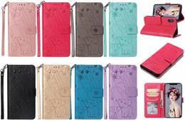 Canada Etui portefeuille en cuir pour Galaxy S10 Lite S9 Note 9 (A9 A7 A6 J6 J4 Core) 2018 Cadre de carte de feux d'artifice à couverture à rabat magnétique fleur d'éléphant supplier elephant leather wallet Offre