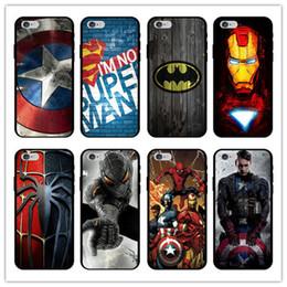 2019 классные сотовые телефоны Для Iphone Xs Max Xr 6 7 8 X Plus Spiderman Captain America чехол для мобильного телефона черный TPU мягкий мультфильм Cool Phone Cases дешево классные сотовые телефоны
