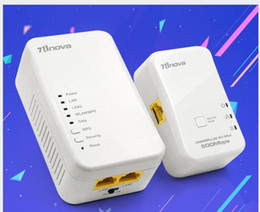 Equipo de adaptador de PLC de portadora de alambre 500M de cable de alimentación cubierto por WiFi inalámbrico desde fabricantes