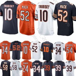 Canada Maillot 52 Khalil Mack Maillots Chicago 10 Mitchell 34 34 Walter Payton 39 Eddie Jackson 58 Maillots de football Roquan Smith cheap bears football jerseys Offre