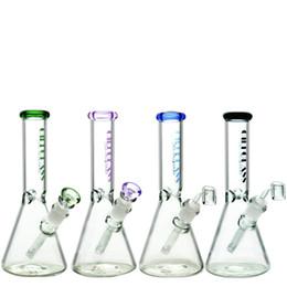 2019 equipamentos de vidro de função Bongos de vidro de 5 mm de espessura 10