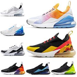 zapatillas florales Rebajas Zapatillas FLORAL para mujer Zapatos para hombre SE Triple Negro Blanco RAINBOW HEEL Volt Orange Zapatillas de deporte para hombre Tamaño 36-45