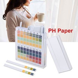 2019 medidor ph ph digital gratuito Prueba de pH Papel de cetona urinaria 0-14 Base ácida portátil Papel de prueba Varilla graduada Diabetes Análisis de grasa corporal Práctico