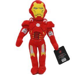 Boneca de pelúcia on-line-30 cm Marvel The Avengers Spiderman Homem De Ferro Hulk Capitão América Thor Stuffed Plush Toys Boneca de Brinquedo Macio para Crianças Dos Miúdos