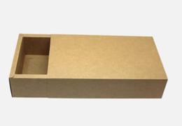 Canada Boîte de tiroir en papier kraft / Thé / Produit de beauté / cadeau / Boîte de rangement pour boîtes de boîtes de savon Offre