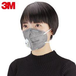 Le charbon actif 3M masque la soupape de respiration de soupape de respiration de masque anti-poussière de gaz d'échappement de gaz d'échappement anti-fumée 9041V / 9042V 2019 ? partir de fabricateur