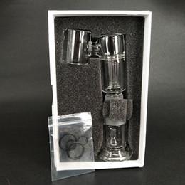 Vidrio vapor de agua online-Henail Plus Reemplazo Pyrex Glass Water Bong Tube Wax Vapor Portable Oil Dab Rig E nail Vaporizer G9 Greenlightvapes Enail