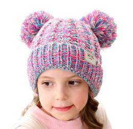 2019 häkeln baby wolle cap design 2019 Winter New beste Verkaufs-Kinder Niedlich Fest Crochet Hat Mädchen und Jungen Warm Knitting Fashiong Hut