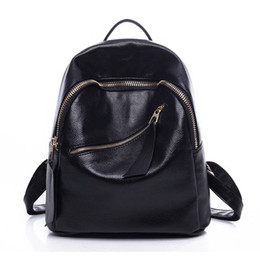 mochila moda marcas Desconto marca Backpack 2019 de alta qualidade moda couro real das mulheres saco de Novo estilo elegante Luxo Mulheres Backpack frete grátis