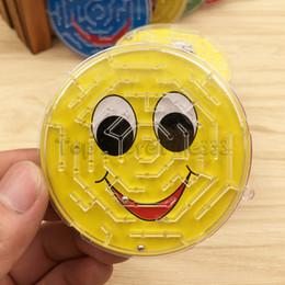 placas de quebra-cabeça Desconto 3D Labirinto Emoção brinquedo Crianças Cedo Educacional Teaser Intelectual Jigsaw Board Crianças Crianças Brinquedo Do Labirinto Brinquedo Do Enigma Do Jogo Dos Miúdos
