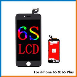 assemblage lunette iphone Promotion Grade A +++ Pas de pixel mort pour iPhone 6S Ecran tactile en verre pour écran tactile pour iPhone 6S Plus, le meilleur écran LCD en copie !!!